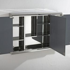حديثة [ستينلسّ ستيل] أثاث لازم غرفة حمّام شريكات مرآة خزانة (7005)