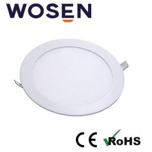 Ronda de 9W Lámparas de techo Iluminación del panel de LED ultracompacto