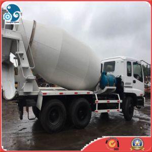 Isuzuは10の車輪セメントの具体的なミキサーのプラントトラックの排出を育てる