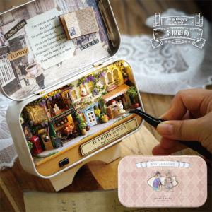Teatro Q-456 del contenitore di regalo del Dollhouse di Cuteroom DIY
