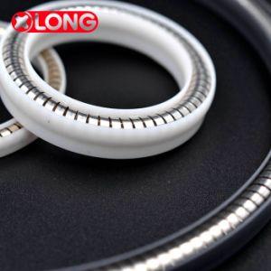 Guarnizioni eccitate molla di alta qualità personalizzate di plastica di PTFE/Teflon/Polymer/per l'ambiente rigoroso della valvola