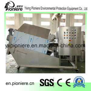 De Ontwaterende Machine van de modder voor de Installatie van de Behandeling van het Water