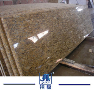 Prefabricのカウンタートップ、VanitytopのWindowsの土台、床タイル、壁のクラッディングのための自然な花こう岩の平板