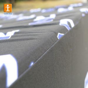 熱転送の布ポリエステルロゴデザイン印刷刺繍6フィートの展覧会の伸張の正方形の