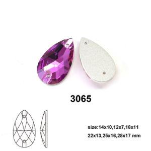 De in het groot Buitensporige Daling van het Glas nam naait op het Bergkristal van het Glas toe