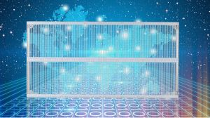Affichage LED en verre universel pour l'intérieur & extérieur fixe l'option d'installation pour la location de l'événement