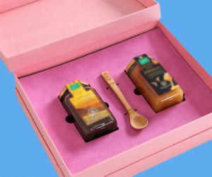 صنع وفقا لطلب الزّبون أحذية/خزفيّة/خمر/زجاج/لباس ورق مقوّى يعبّئ صندوق مع حقيبة