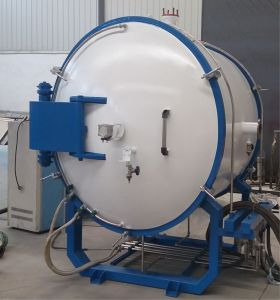 Zhuzhou 2500c индукционного нагрева вакуумный термообработки спекания печи
