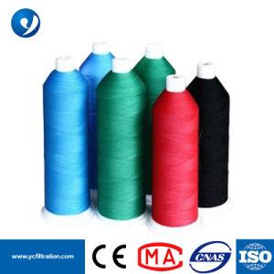 Китай или PTFE Политетрафторэтилен высокой температуры сопротивление швейных резьба для промышленности мешок фильтра для сбора пыли