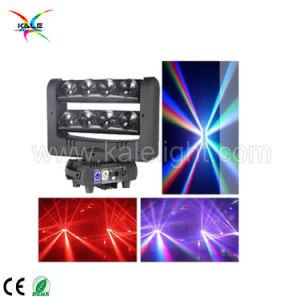 熱い販売の狂気の8つの目LEDのビーム移動ヘッドくもライト