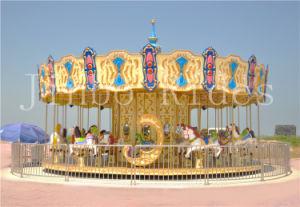 La zona fieristica allegra va carosello Merry-Go-Round/del tondo da vendere
