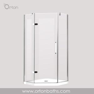 Homedepot coin salle de douche en verre renforcé