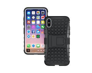 3Dタイヤの質のKickstandの装甲iPhone及びSamsungシリーズのためのハイブリッド携帯電話の箱
