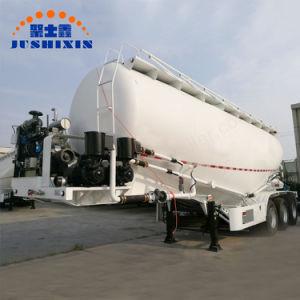 3개의 차축은 트레일러 시멘트 분말 유조선 아BS 시스템 반 크게 한다