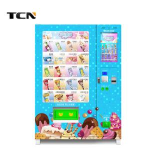 ODM NPT Máquina de Venda de sorvete com ecrã de 22''