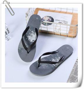 Custom antidérapant en caoutchouc confortables hommes sandales de plage Tongs