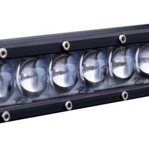 Rechte LEIDENE van de enig-Rij 100W Lichte Staven met 4D Lens