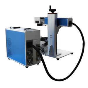 고품질 플라스틱 고무 강철 알루미늄 금속 금 은을%s 싼 가격 섬유 Laser 표하기 조판공 기계