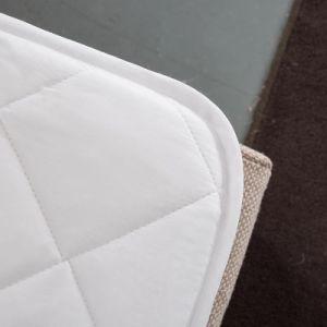 Fodera per materassi impermeabile dell'hotel dell'ospedale di sonno del cotone sottile bianco del pozzo (JRD624)