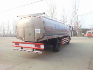 8 toneladas de alimentos em aço inoxidável Dongfeng Classe de veículo de transporte de leite fresco