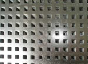販売のための電流を通された穴があいた金属の網