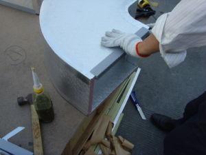 Resinas fenólicas Pre-Insulated Panel del conducto de aire