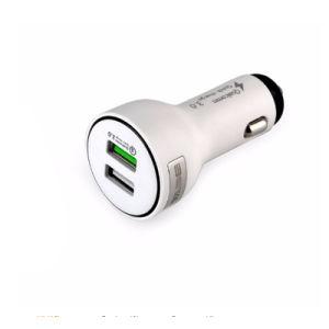 Мобильный телефон с двумя порт USB QC 3.0 быстро быстро Xiaom автомобильное зарядное устройство для iPhone