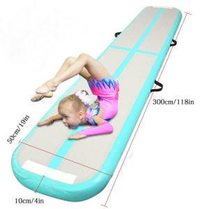Hot Vender aire inflable vía alfombrilla de gimnasia