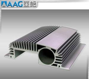OEMの工場はアルミニウム脱熱器突き出た