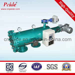Filtre d'eau autonettoyant automatique d'acier du carbone pour le fleuve (eau non traitée)