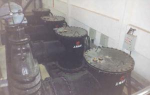 縦の軸流れか混合された浸水許容ポンプ