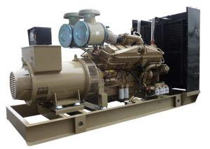 AC Three Pase Output Type 75kw/93kVA Dcec Cummins Diesel Generator Set