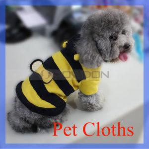Biene Shape Pet Clothes/Pet Clothing/Dog Clothes für Decor Warming (PC-001)