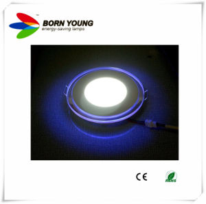 Quarto Twin com iluminação traseira LED SMD mudam de cor baixar (6W12W)