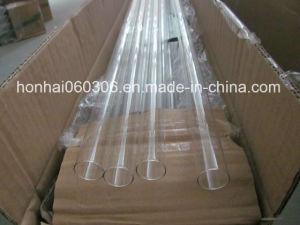 Tubo de vidro sodo transparente