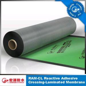 Stagnola impermeabile autoadesiva di /Garage dell'inclinazione di /Basement del feltro di /Roofing della membrana della pellicola appiccicosa One-Side dell'HDPE (iso)