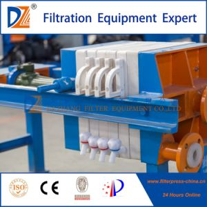 Kleine manuelle Jack-Filterpresse-Maschine