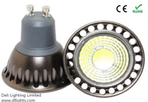 GU10 Epistar Chip 3W COB LED Spotlight