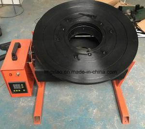 Certification CE de la soudure d'affichage numérique table rotatoire pour soudure circulaire
