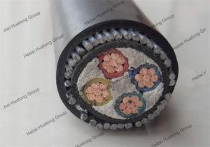 XLPE com bainha de PVC com isolamento de PVC/4 core 50mm do cabo de alimentação de PVC