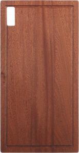 Pia de cozinha de aço inoxidável/bacia (R20, ângulo de câmara dupla com placa de purga) 1160*500mm Bl-658