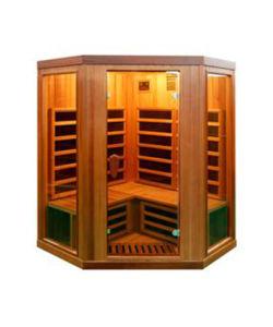 Joda mucho Infared Sauna Sauna Sauna de Cedro Rojo