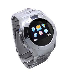 Edelstahl-Uhr-Telefon mit Touch Screen