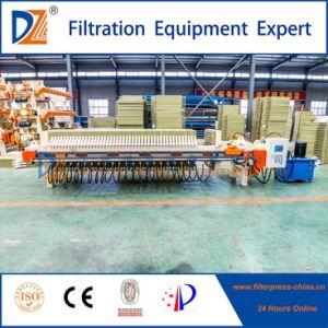 Membrane contrôlés par le PLC pinçant Filtre presse