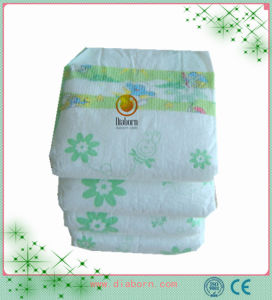 綿の表面の通気性の赤ん坊のおむつ