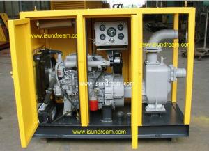 Pompe centrifuge horizontale avec moteur Diesel