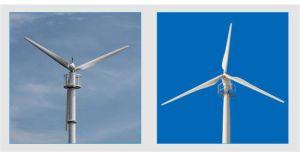 10kw-100kw Générateur de vent à commande électrique horizontale avec faible bruit et faible démarrage Vitesse du vent