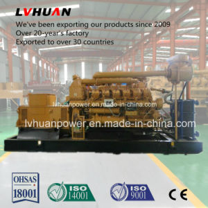 Stamford Alternator1000rpmのを使って500kwか600kw石炭ベッドのガスの発電機の産業発電機の中国Lvhuanのブランド