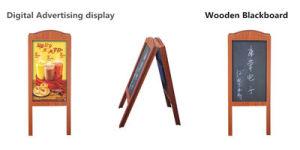 Un nouvel angle réglable1 Affichage LCD avec châssis en bois d'administration