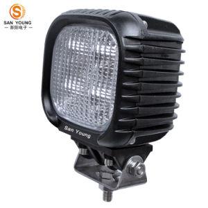 Voyant lumineux carrés 40W 4X4 des feux de conduite automobile